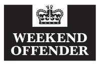 Weekend Offender sale