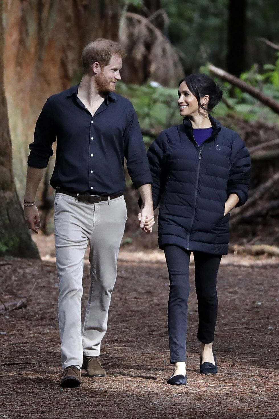 October 31, 2018. Redwoods treewalk, Rotorua