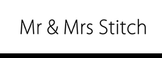 Mr & Mrs Stitch sale